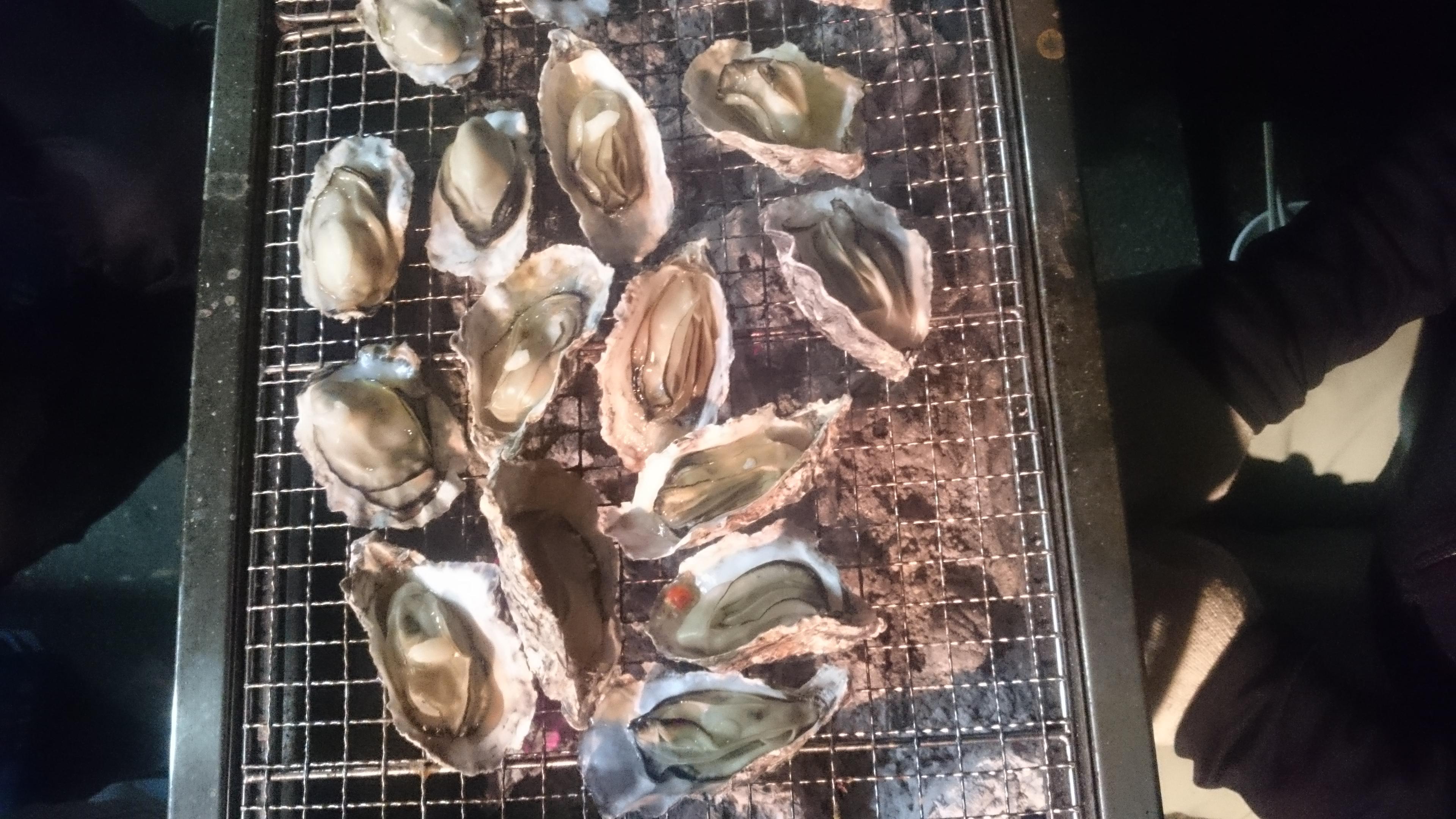牡蠣焼パーティー